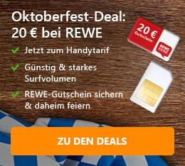 Oktoberfest-Deal: 20 Euro bei REWE