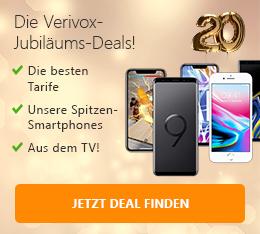 Jubiläumstarife Verivox 20 Jahre